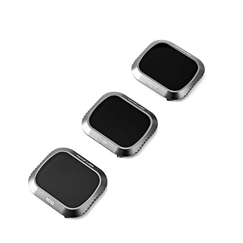 Lens Filters for DJI Mavic 2 Pro Camera Lens Set, Multi Coated Filters Pack Accessories (3 Pack) ND32, ND64, ND128, Updated: Works with Gimbal Cover