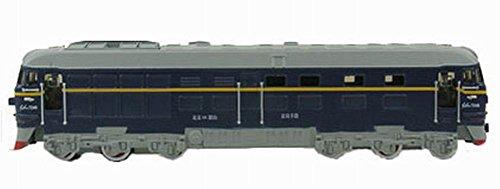 - Simulation Locomotive Toy Model Trains Toy Train, Blue (2345.5CM)