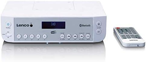 Lenco Kcr 200 Küchenradio Unterbauradio Dab Radio Bluetooth 5 Senderspeicher Uhr Und Timer Funktion Weiß Heimkino Tv Video