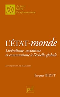 L'État-monde par Jacques Bidet