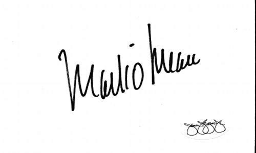 (Mark O'Meara 1998 PGA Masters Tournament Champ Signed 3x5 Index Card JSA 143788)