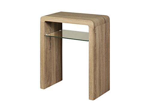 Petite Console D Entree.The One Malmo Petite Table Console En Chene Avec Etagere En