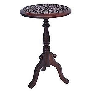 Artesia Portable Folding Table (Brown)