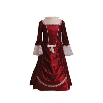 [Girls Kids Childrens Historical Victorian Lady/Woman Fancy Dress Costume 9-11 Years by Dress Up By Design] (Historical Figures Costumes Female)