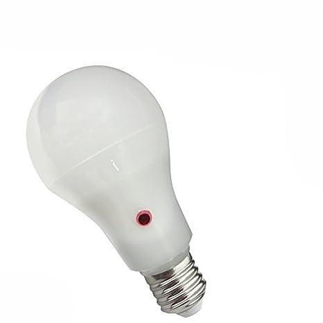 Bombilla led estándar 12W E27 con sensor crepuscular: Amazon.es: Iluminación