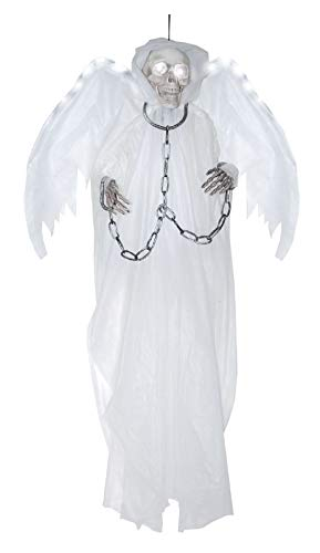 Ovedcray Costume series Light-Up White Winged Reaper in Chains Prop -