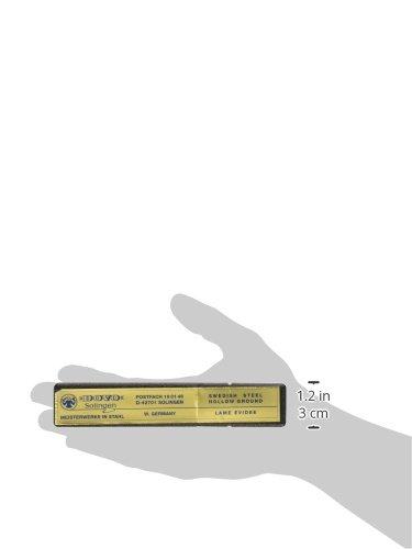 Dovo Straight Razor Blond Folding Knife, 3in, Half Hollow Ground Razor Blade, Blond 101 586