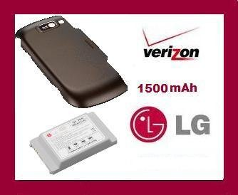 New OEM LG EXTENDED BATTERY AND EXTANDED DOOR FOR OCTANE VN530 VERIZON VN-530