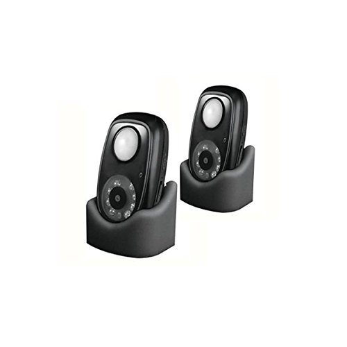 PIR Motion Detector and Camera 2 Pack (DVR-01) by Dakota Alert by Dakota Alert