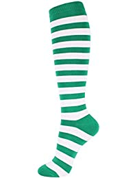 Women's Colorful Sexy Striped Knee High Socks