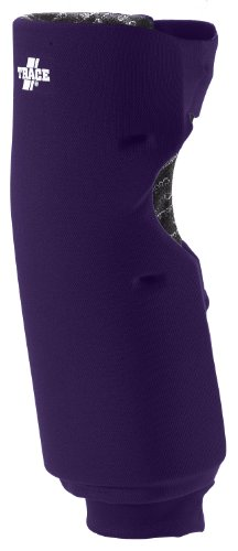 Adams USA Trace Long Style Softball Knee Guard (Medium, Purple) (Pads Adams Knee)