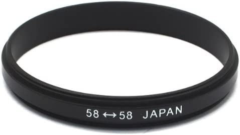 Pixco 58mm-58mm Male Marco Coupler Reverse Adapter Ring