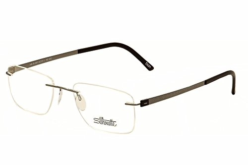 - Silhouette Eyeglasses Titan Accent Chassis 5452 6061 Optical Frame 19x145mm