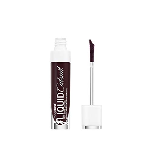 wet n wild Megalast Liquid Catsuit High Shine Lipstick, Late Night Done Right, 0.2 Ounce
