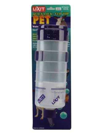 Lixit Quick Lock Flip Top Water Bottle (32 oz)