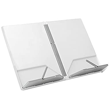 Joseph Joseph CookBook Compact Folding Bookstand, White