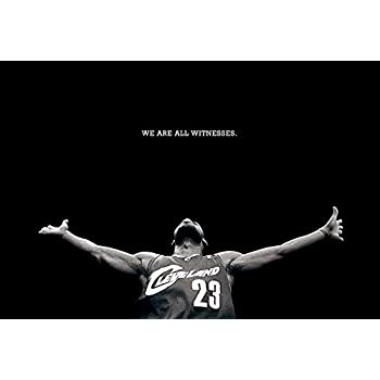 bdf3c2f00298c Amazon.com: omgposter D8871 Lebron James Dwyane Wade Alley-OOP NBA ...