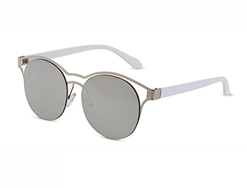 Nuevas Frame Metal Big Gray Galaxy Aviator de gafas Classic Frame sol Vintage Sunglasses rxvrFqf
