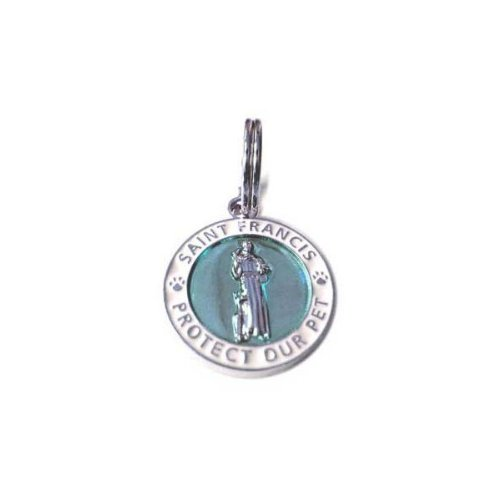 Luxepets St Francis Charm Small, Blue by Luxepets