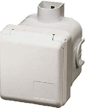 Mennekes up-Caja para empotrar 4243 16 A, 3 P, 6 horas, 230 V ...