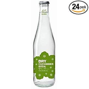 - Dry Soda - Cucumber, 12 Ounce - 4 per pack - 6 packs per case.
