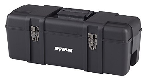 Waterloo Portable Series Tool Box made with Lightweight Industrial-Strength Plastic, 26 by Waterloo