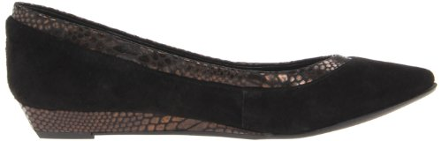Oak Alonsa BCBGeneration Women's Flat Black 5OSW8q1Wzn