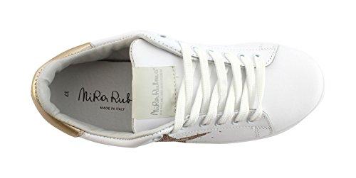 Platinum Rubens Dast86 Daiquiri Sneaker Bianco stardust Stella Nira xZP0x
