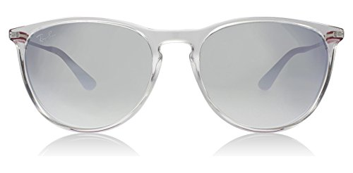 Ray-Ban Girls' Plastic Woman Non-Polarized Iridium Round Sunglasses, Transparent, 50 - Frame Ban Transparent Ray