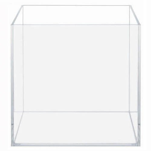 HIGH CLARITY GLASS CUBE 2.11 GALLONS