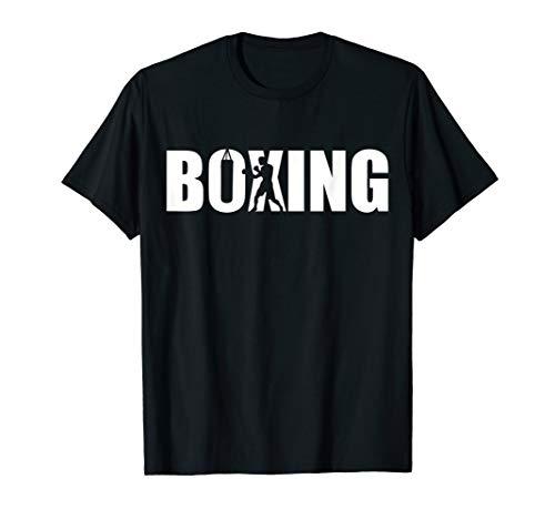 Boxing T-Shirt - Womens T-shirt Boxing Dark