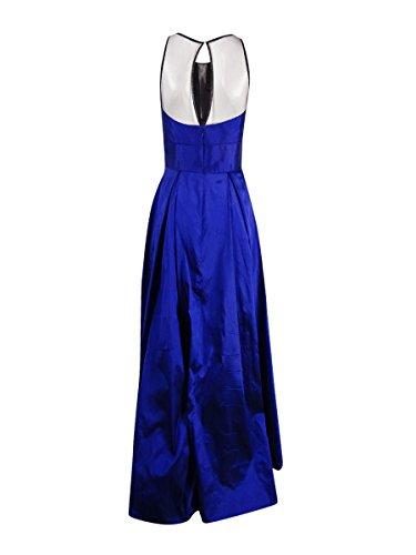 Mesh Womens Mattox Formal Sleeveless Indigo Dress Inset Aidan Uwqf7xAf