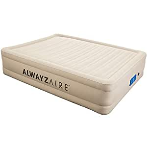 Bestway Fortech Alwayzaire Air Bed Queen Inflatable Mattress Sleeping Mats Indoor Home Camping