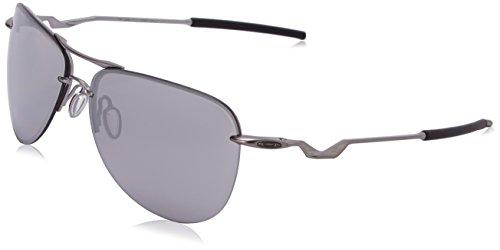 Oakley Men's Tailpin OO4086-07 Aviator Sunglasses, Lead Fram