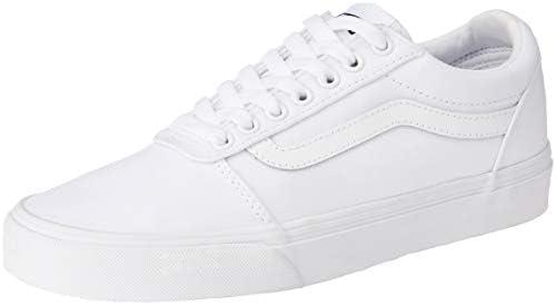 Vans Ward Low Top Sneaker - White/White