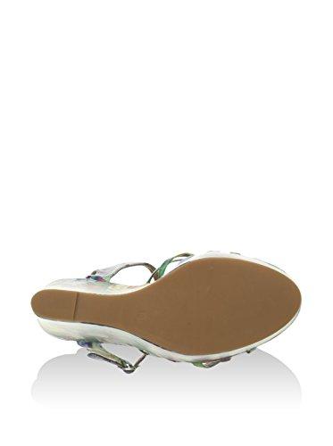 Sandalo 40 Jeffrey Campbell bianco Eu Verde Zeppa wSCCaq