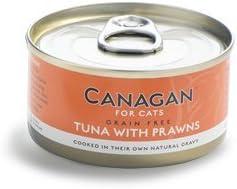 Canagan Cat Cans Tuna & Prawns - Juego de 12 latas de 75 g: Amazon ...