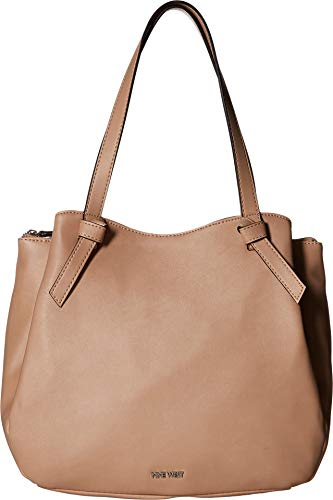 Nine West Womens Anaelle Carryall Tote Barely Nude One Size
