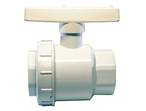 "American Valve P200SUE 1 1/2"" PVC Single Union Ball for sale  Delivered anywhere in USA"