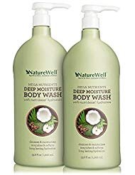 Nature Well Mega Nutrients Deep Moisture Body Wash (33.8 fl. oz., 2 pk.)