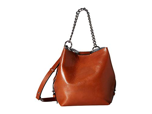 Rebecca Minkoff Women's Kate Medium Convertible Bucket Bag, Acorn, Tan, One Size