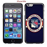 iPhone 6 Case, iPhone 6S Cases, NY Rangers Hockey Team logo 11 Drop Protection Never Fade Anti Slip Scratchproof Black Hard Plastic Case (Player Sherwood Record)