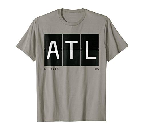 ATL Atlanta US United States Airport Code Traveler T Shirt
