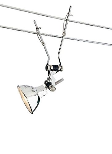 (Tech Lighting 700KJAN24S, Jane Track Lighting Pendant Head, 1.2 Total Watts Halogen, Nickel)
