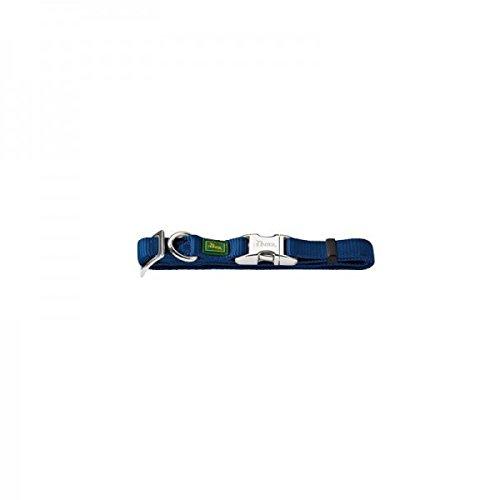 Hunter 43958 Halsung für Hunde Vario-Basic ALU-Strong, M, 40-55 cm, Nylon, Marine