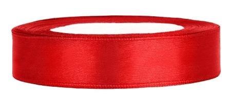 Satinband Dekoband 12 mm breit (rot)