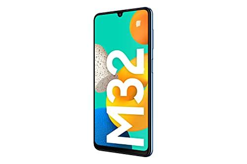 Samsung-Smartphone-Galaxy-M32-con-Pantalla-Infinity-U-FHD-sAMOLED-de-64-Pulgadas-6-GB-de-RAM-y-128-GB-de-Memoria-Interna-Ampliable-Bateria-de-5000-mAh-y-25W-Carga-rapida-Azul-ES-Version