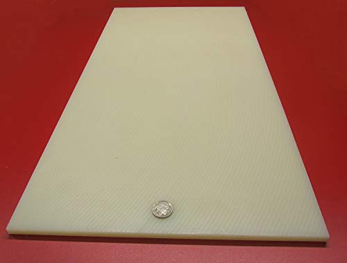 5//16 Nylon 66 Natural Sheet .312 x 12 x 24