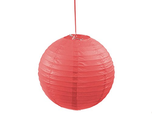 3PACK-Round-12-Inch-Paper-Lantern-Hanging-Decoration-Lamp-with-Metal-Frame-for-Every-Occasions-Red