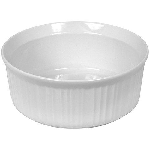 CorningWare French White 2-1/2-Quart Round Dish